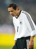 Fussball / Deutsche Nationalmannschaft Oliver NEUVLLE deutscher Nationalspieler