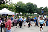 The Rusty Bucket Corner Tavern is one of the many vendors with a line during the 21st annual The Taste in the Lincoln Park Commons area at the Fraze Pavilion, Thursday, September 3, 2009.