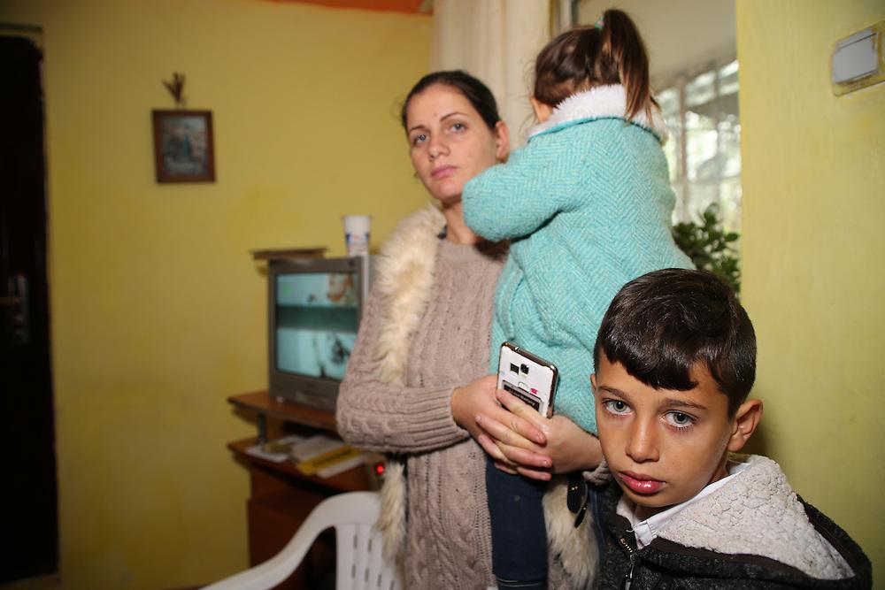 Razvan's nephew and his sister Sinella.
