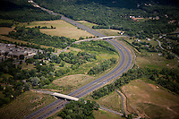 Aerial photo of the MD intercounty COnnector from I270 in Gaithersburg to MD 97