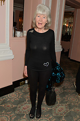 JILLY COOPER at the Oldie Magazine's Oldie of The Year Awards held at Simpson's In The Strand, London on 4th February 2014.