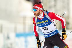 March 9, 2019 - –Stersund, Sweden - 190309 Simon Eder of Austria  competes in the Men's 10 KM sprint during the IBU World Championships Biathlon on March 9, 2019 in Östersund..Photo: Johan Axelsson / BILDBYRÃ…N / Cop 245 (Credit Image: © Johan Axelsson/Bildbyran via ZUMA Press)