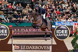 THIEME Andre (GER), Aretino 13<br /> Leipzig - Partner Pferd 2019<br /> IDEE Kaffe Preis<br /> CSI5*<br /> 18. Januar 2019<br /> © www.sportfotos-lafrentz.de/Stefan Lafrentz