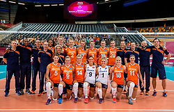 07-07-2017 NED: World Grand Prix Netherlands - Dominican Republic, Apeldoorn<br /> First match of first weekend of group C during the World Grand Prix / Team Netherlands