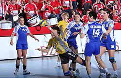 Ljudmila Bodnjeva at handball match at Main round of Champions League between RK Krim Mercator, Ljubljana and CS Oltchim Rm. Valcea, Romania, in Arena Kodeljevo, Ljubljana, Slovenia, on 28th of February 2009. Krim won 35:34.