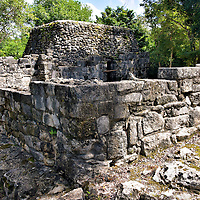 Templo Murciélagos at San Gervasio near San Miguel, Cozumel, Mexico<br />