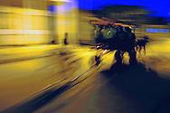 Horse and wagon in Cumanayagua, Cienfuegos Province, Cuba.