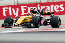 October 20, 2017 - Austin, Texas, U.S - Carlos Sainz (55) of Spain in action before the Formula 1 United States Grand Prix race at the Circuit of the Americas race track in Austin,Texas. (Credit Image: © Dan Wozniak via ZUMA Wire)