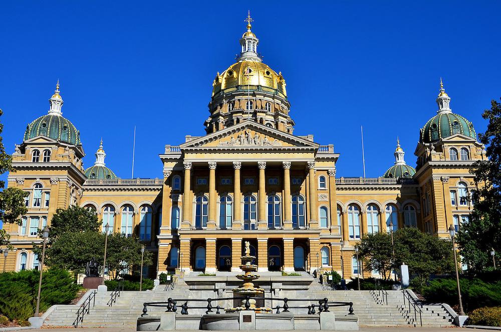Iowa State Capitol Building Exterior