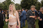 MEREDITH OSTRON; RON ARAD, 2016 SERPENTINE SUMMER FUNDRAISER PARTY CO-HOSTED BY TOMMY HILFIGER. Serpentine Pavilion, Designed by Bjarke Ingels (BIG), Kensington Gardens. London. 6 July 2016