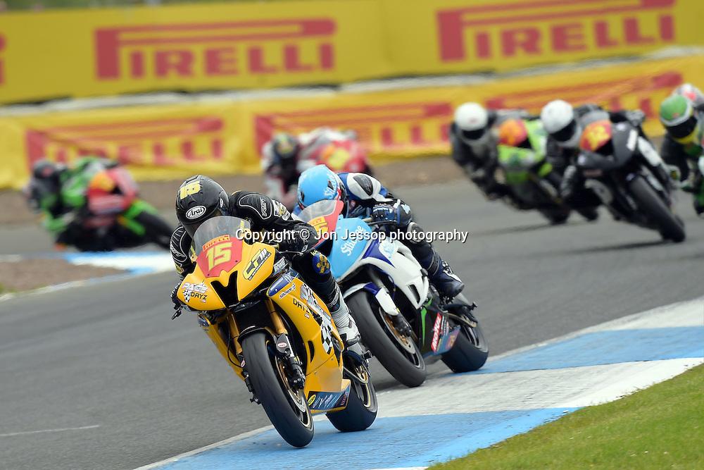 #15 Ross Twyman Pacedayz Trackdays Yamaha Pirelli National Superstock 600
