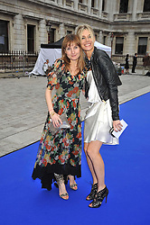 Left to right, DAISY BATES and KIM HERSOV at the Royal Academy of Arts Summer Party held at Burlington House, Piccadilly, London on 3rd June 2009.