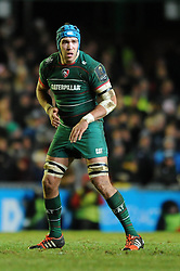 Leicester Tigers replacement, Graham Kitchener - Photo mandatory by-line: Dougie Allward/JMP - Mobile: 07966 386802 - 16/01/2015 - SPORT - Rugby - Leicester - Welford Road - Leicester Tigers v Scarlets - European Rugby Champions Cup