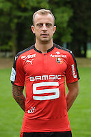 Kamil Grosicki of Rennes during the presentation of the Stade Rennais Team on September 12, 2016 in Rennes, France. (Photo by Andre Ferreira/Icon Sport)