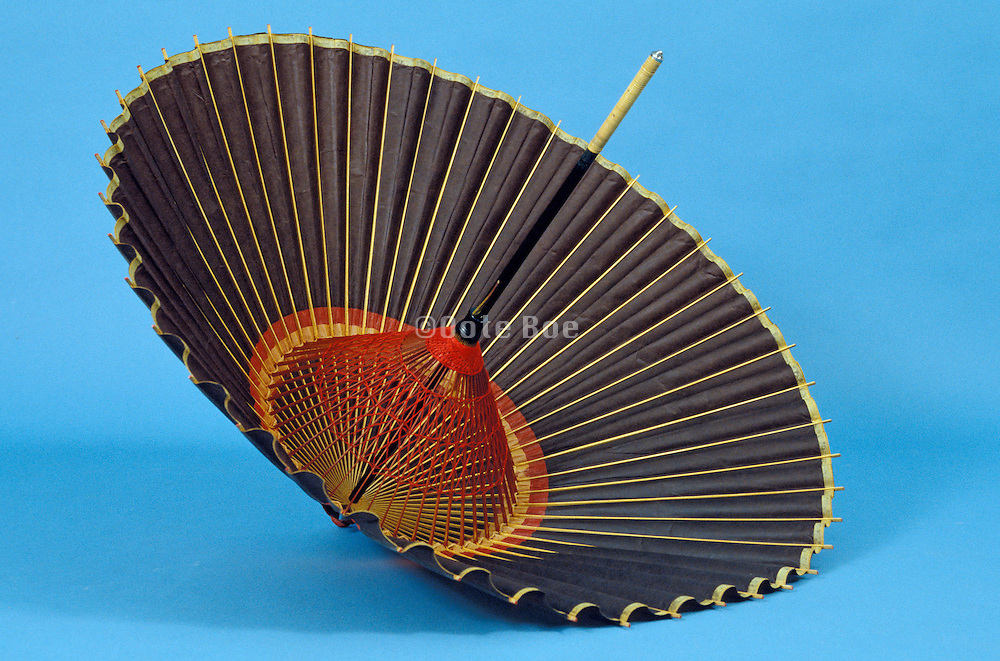 opened parasol