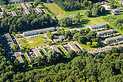Nederland, Flevoland, Nagele, 27-08-2013;<br /> Dorp Nagele in de Noordoostpolder, bijna geheel ontworpen door moderne architecten in de jaren 50.<br /> Village Nagele in the Northeast polder, almost entirely designed by modern architects in the 50s.<br /> luchtfoto (toeslag op standaard tarieven);<br /> aerial photo (additional fee required);<br /> copyright foto/photo Siebe Swart.