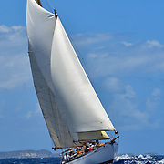 Richard West's 1928 50' schooner - Antigua Classic Yacht Regatta 2019