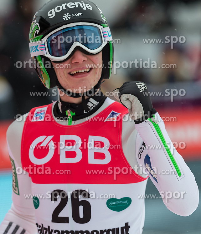 15.01.2016, Kulm, Bad Mitterndorf, AUT, FIS Skiflug WM, Kulm, 2. Durchgang, im Bild Anze Lanisek (SLO) // Anze Lanisek of Slovenia during his 2nd Round Jump of FIS Ski Flying World Championships at the Kulm, Bad Mitterndorf, Austria on 2016/01/15, EXPA Pictures © 2016, PhotoCredit: EXPA/ Dominik Angerer