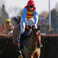 Hunt Ball and Barry Geraghty winning the 2.30 race