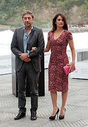 Director Sergio Casttellito and Penelope Cruz at the San Sebastian International Film Festival, Tuesday, 25th September 2012. SPAIN OUT Photo by : Nacho Lopez/ DyD Fotografos/ i-Images