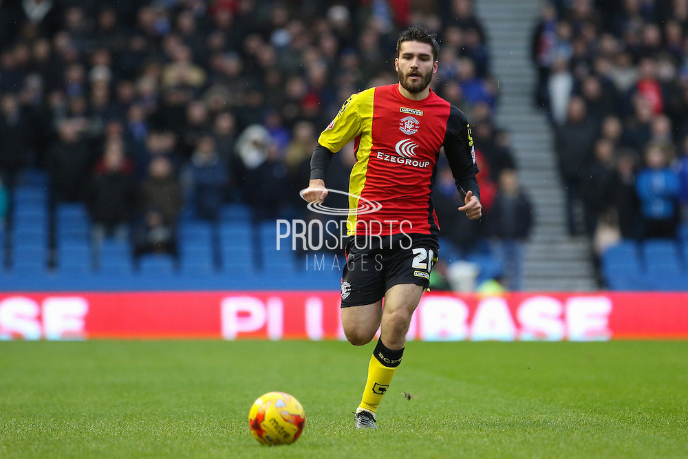 Birmingham City midfielder Jon Toral (20) during the Sky Bet Championship match between Brighton and Hove Albion and Birmingham City at the American Express Community Stadium, Brighton and Hove, England on 28 November 2015. Photo by Phil Duncan.