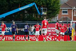 Bristol City players look dejected after West Ham win the game 0-1 - Photo mandatory by-line: Rogan Thomson/JMP - 07966 386802 - 25/01/2015 - SPORT - FOOTBALL - Bristol, England - Ashton Gate Stadium - Bristol City v West Ham United - FA Cup Fourth Round Proper.