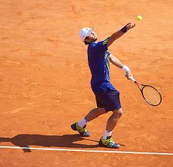 MONTE-CARLO, MONACO - Sunday, April 18, 2010: Fernando Verdasco (ESP) during the Men's Singles Final on day seven of the ATP Masters Series Monte-Carlo at the Monte-Carlo Country Club. (Photo by David Rawcliffe/Propaganda)