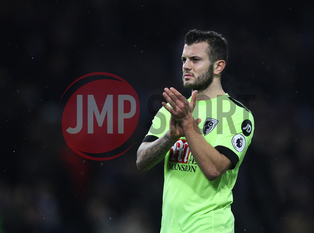Jack Wilshere of Bournemouth looks dejected - Mandatory by-line: Jack Phillips/JMP - 10/12/2016 - FOOTBALL - Turf Moor - Burnley, England - Burnley v AFC Bournemouth - Premier League