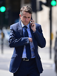 © Licensed to London News Pictures. 02/06/2020. London, UK. Education Secretary GAVIN WILLIAMSON Is seen arriving at The Houses of Parliament in London ahead of a 90-minute debate on the new voting system and a series of votes this afternoon. Government has introduced further measures to slowly ease lockdown, which was introduced to fight the spread of the COVID-19 strain of coronavirus. Photo credit: Ben Cawthra/LNP