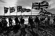 British National Party (BNP) demonstrators , Wolverhampton, West Midlands, 1992