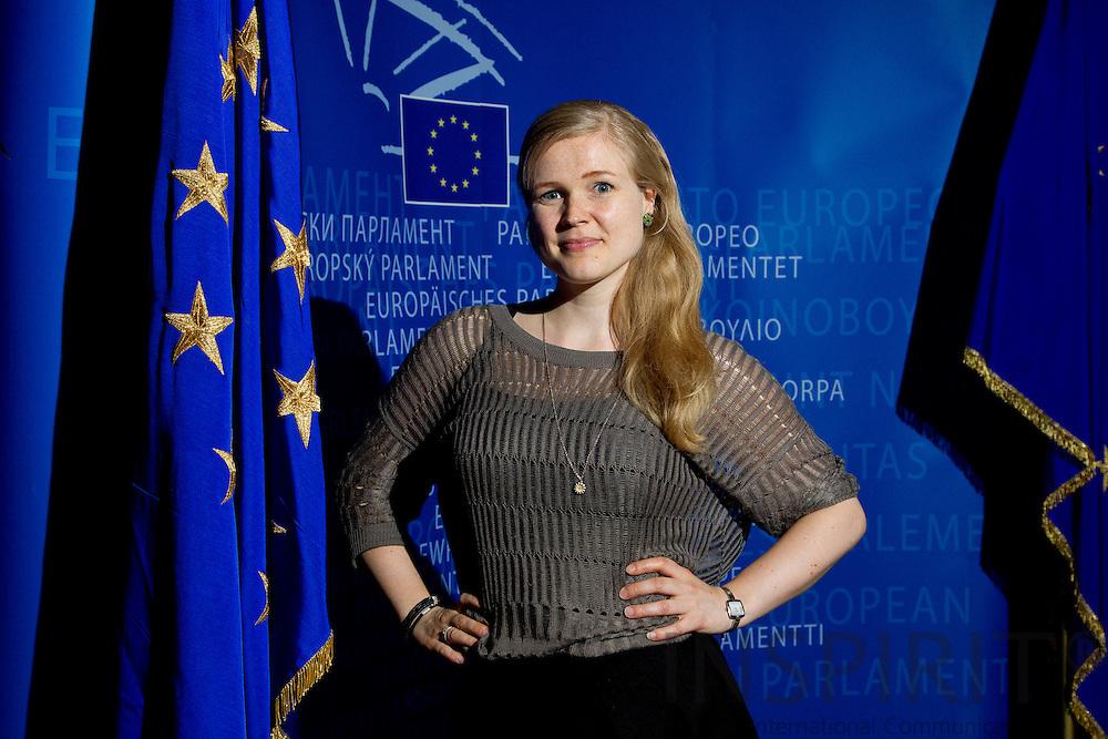 Mai Weber Juul, politisk konsulent for MEP Christel Schaldemose, fotograferet i Europa-Parlamentet i Bruxelles den 13 juli 2012. Foto: Erik Luntang/INSPIRIT Photo