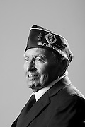 Alex Lujan<br /> Army<br /> E-3<br /> Infantry<br /> 1943 - 1945<br /> WWII (Pacific)<br /> <br /> <br /> Veterans Portrait Project<br /> San Diego, CA