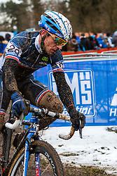 Francis Mourey (FRA), Men Elite, Cyclo-cross World Championship Tabor, Czech Republic, 1 February 2015, Photo by Pim Nijland / PelotonPhotos.com