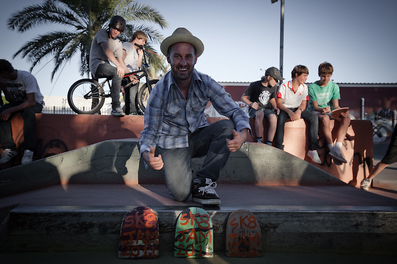 Matty Day organised and put together Sk8Jam Alice Springs -2011