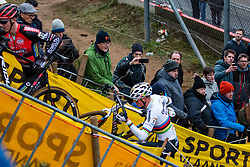 VAN DER POEL Mathieu (NED) during Men Elite race, 2019 UCI Cyclo-cross World Cup Heusden-Zolder, Belgium, 26 December 2019. <br /> <br /> Photo by Pim Nijland / PelotonPhotos.com <br /> <br /> All photos usage must carry mandatory copyright credit (Peloton Photos | Pim Nijland)