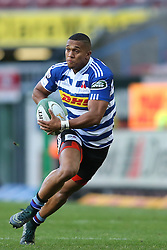 Leolin Zas of Western Province during the Currie Cup Premier Division match between the DHL Western Province and the Sharks held at the DHL Newlands Rugby Stadium in Cape Town, South Africa on the 3rd September  2016<br /> <br /> Photo by: Shaun Roy / RealTime Images