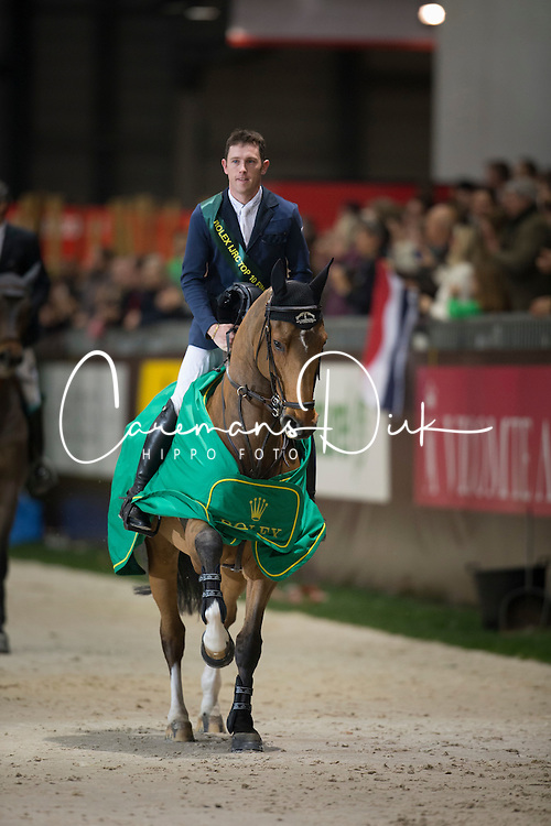 Brash Scott (GBR) - Hello Sanctos<br /> Concours Hippique International de Genève 2014<br /> © Hippo Foto - Dirk Caremans