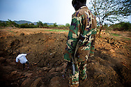 The Kouda airstrip near the  was bombed Nuba mountains on July 6, 2011 though it missed its target.