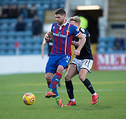 20th January 2018, Dens Park, Dundee, Scotland; Scottish Cup fourth round, Dundee versus Inverness Caledonian Thistle; Inverness Caledonian Thistle's Iain Vigurs and Dundee's A-Jay Leitch-Smith
