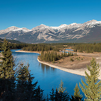 Just across the B.C. Alberta border and in Alberta on the eastern plateau of the Continental Divide, Kinder Morgan's proposed Trans Mountain Pipeline would run along the far side of this creek system.