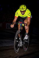 "GENT, BELGIUM, NOVEMBER 12: Fabian Cancellara pictured during ""Ciao Fabian"". An event to honour Fabian Cancellara's carreer. In Kuipke, Gent, Belgium on Saturday, november 12 2016 *** © Gregory Van Gansen***"