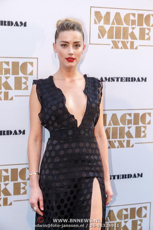 NLD/Amsterdam/20150701 - Filmpremiere Magic Mike XXL, Amber Heard
