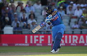 Rohit Sharma during the International T20 match between England and India at Old Trafford, Manchester, England on 3 July 2018. Picture by George Franks.