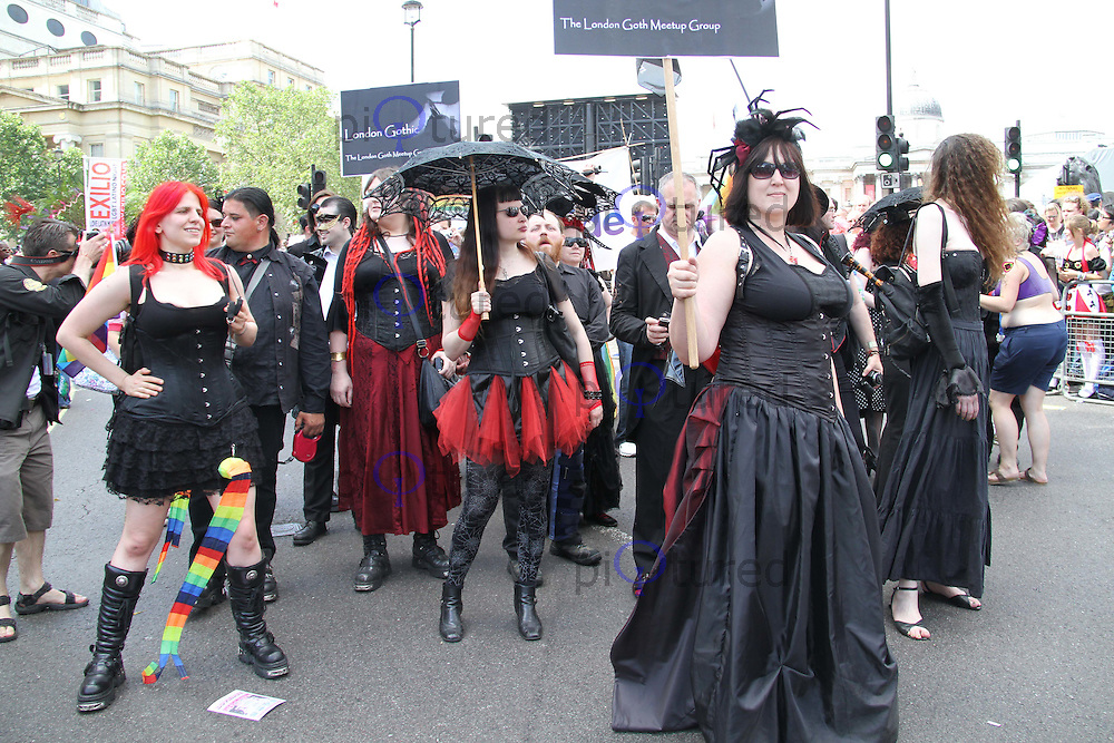 Pride London Parade, London, UK, 03 July 2010:  For piQtured Sales contact: Ian@Piqtured.com +44(0)791 626 2580 (Picture by Richard Goldschmidt/Piqtured)