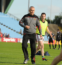 Mayo&rsquo;s trainer Donie Buckley at McHale Park.<br /> Pic Conor McKeown
