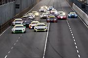 Start of the Macau GT qualifying race. <br /> <br /> 64th Macau Grand Prix. 15-19.11.2017.<br /> SJM Macau GT Cup - FIA GT World Cup<br /> Macau Copyright Free Image for editorial use only