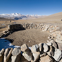 Ilok. Summer herder's camp, Big Pamir, Afghanistan.