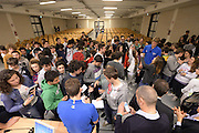 DESCRIZIONE : Ancona raduno nazionale maschile senior - visita scuole<br /> GIOCATORE : <br /> CATEGORIA : nazionale maschile senior<br /> GARA : Ancona raduno nazionale maschile senior - visita scuole<br /> DATA : 10/02/2014<br /> AUTORE : Agenzia Ciamillo-Castoria