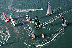 2011 - AMERICA'S CUP IN SAN DIEGO - SHADOWS AND WHITE WATER - CALIFORNIA - USA