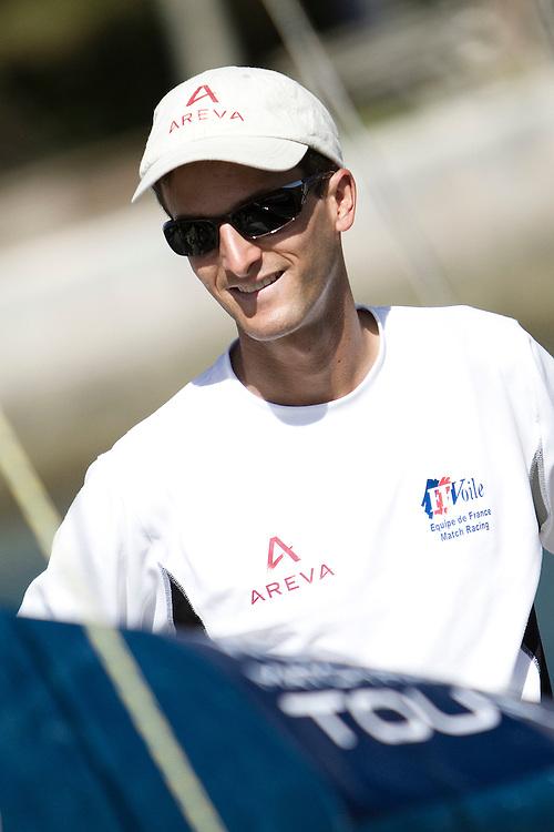 Mathieu Richard. Argo Group Gold Cup 2010. Hamilton, Bermuda. 4 October 2010. Photo: Subzero Images/WMRT